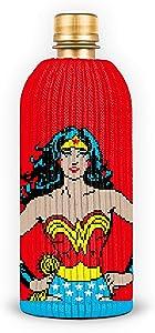 FREAKER Fits Every Bottle Can Beverage Insulator, Stops Bottle Sweat, DC Wonder Woman Superhero Justice League (1)