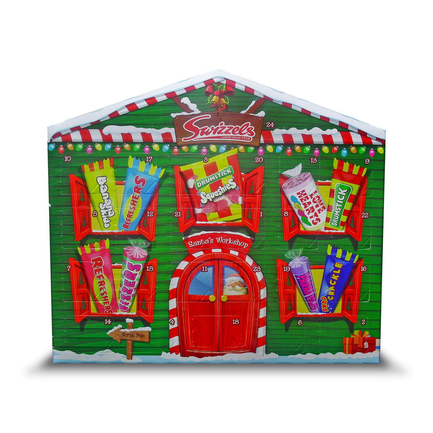 504bc792342 Swizzels Matlow Advent Calendar 200g(Pack of 1): Amazon.co.uk: Grocery