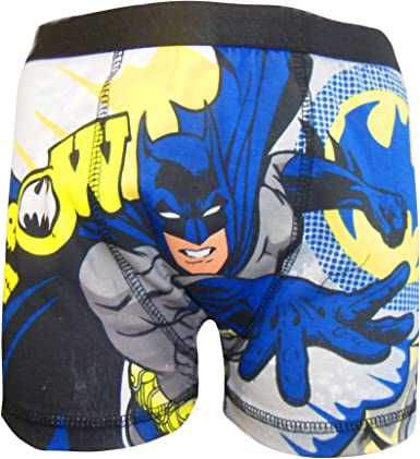 Batman Kapow Niño 1 Pack Boxer Pantalones Cortos Multicolor: Amazon.es: Ropa y accesorios