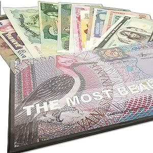 IMPACTO COLECCIONABLES Billetes del Mundo - Colección de Billetes - Los 13 Billetes más Bonitos del Mundo: Amazon.es: Juguetes y juegos