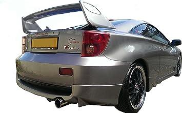 35CM Rear Side Exteriors Bottom Line Extensions Splitter Lip Car Diffusers B Blesiya Pair of Universal Side Skirts Carbon Fiber