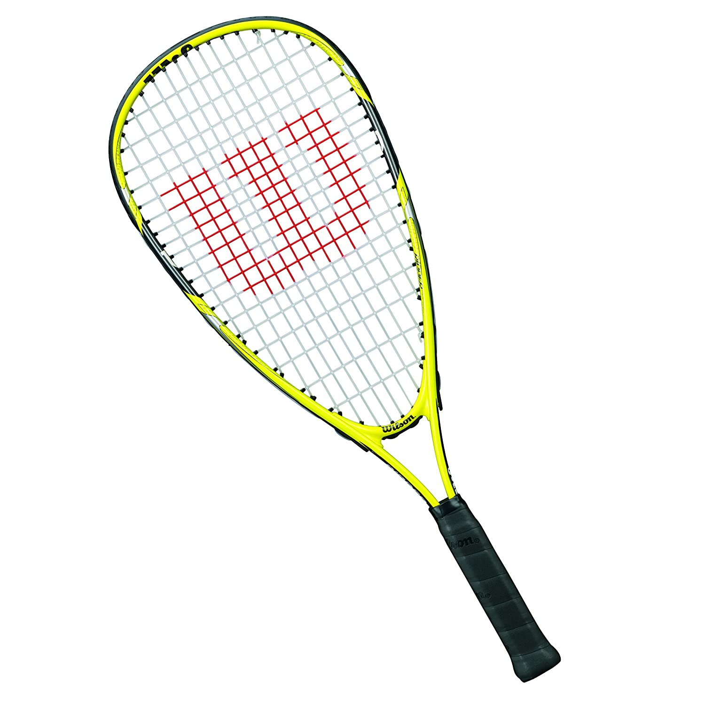 Wilson Ripper Junior Raqueta de squash para niños, Amarillo/Negro ...
