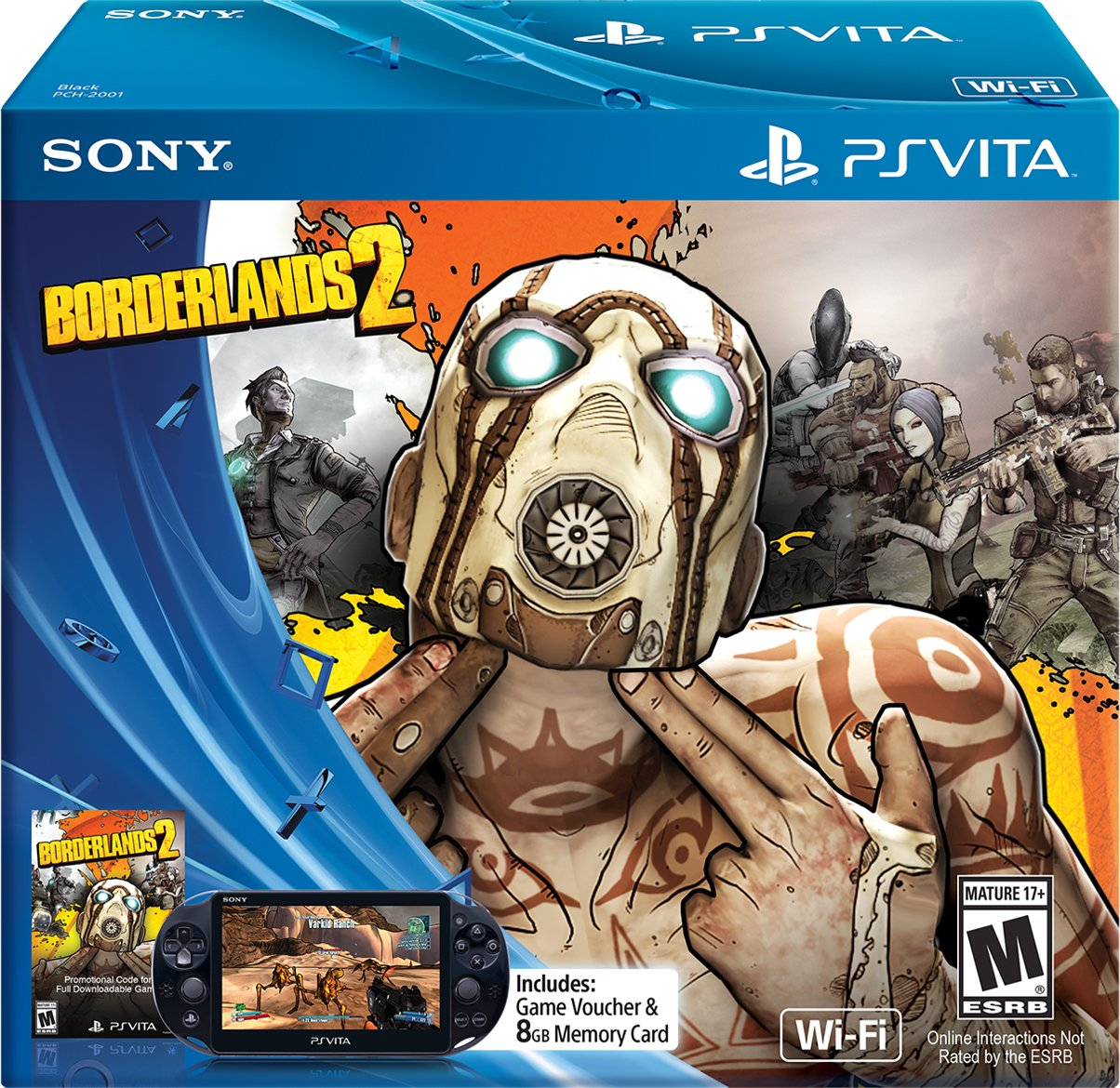 Borderlands 2 - Limited Edition - PlayStation Vita Bundle by Sony
