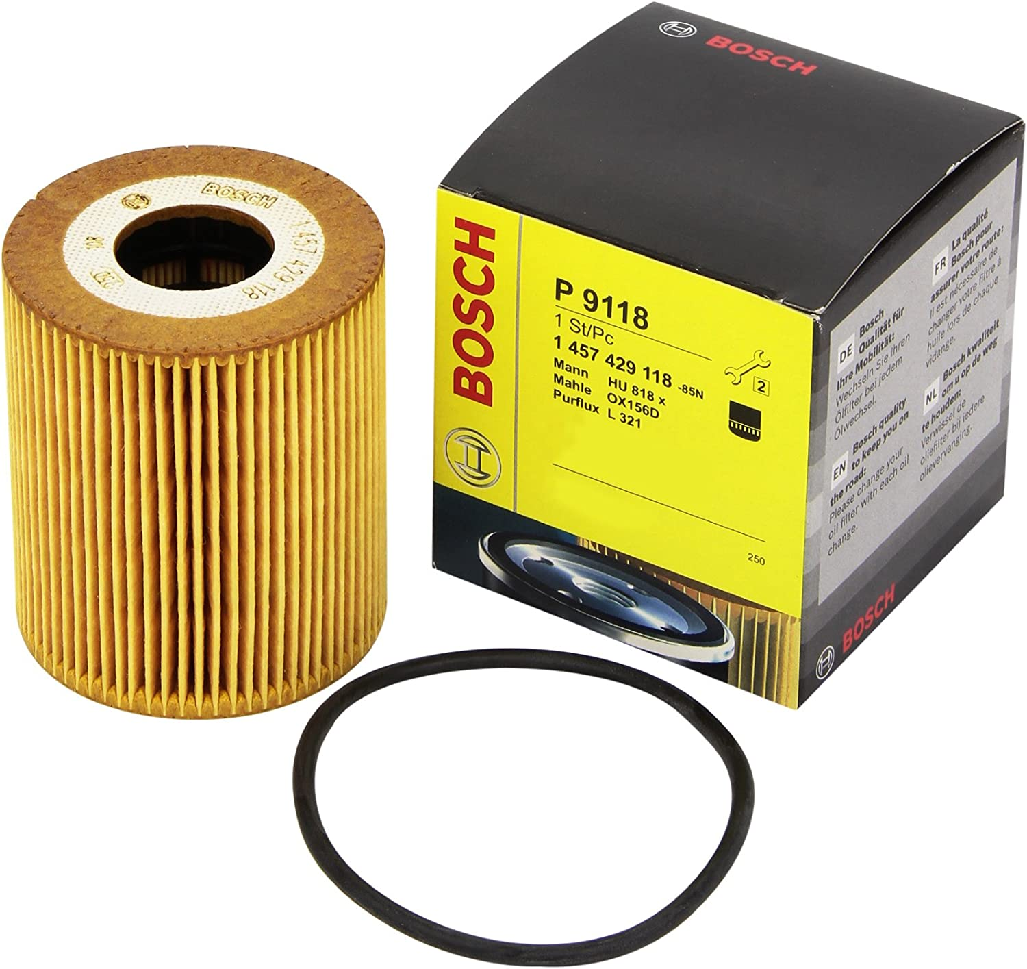 Land Rover Range Rover 2002-2012 Mk III Mann Engine Replacement Oil Filter