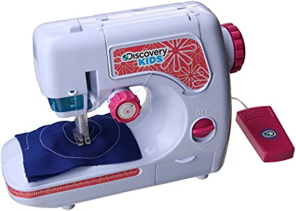 Amazon NKOK Discovery Kids Chainstitch Sewing Machine Toys Games Adorable Discovery Kids Sewing Machine