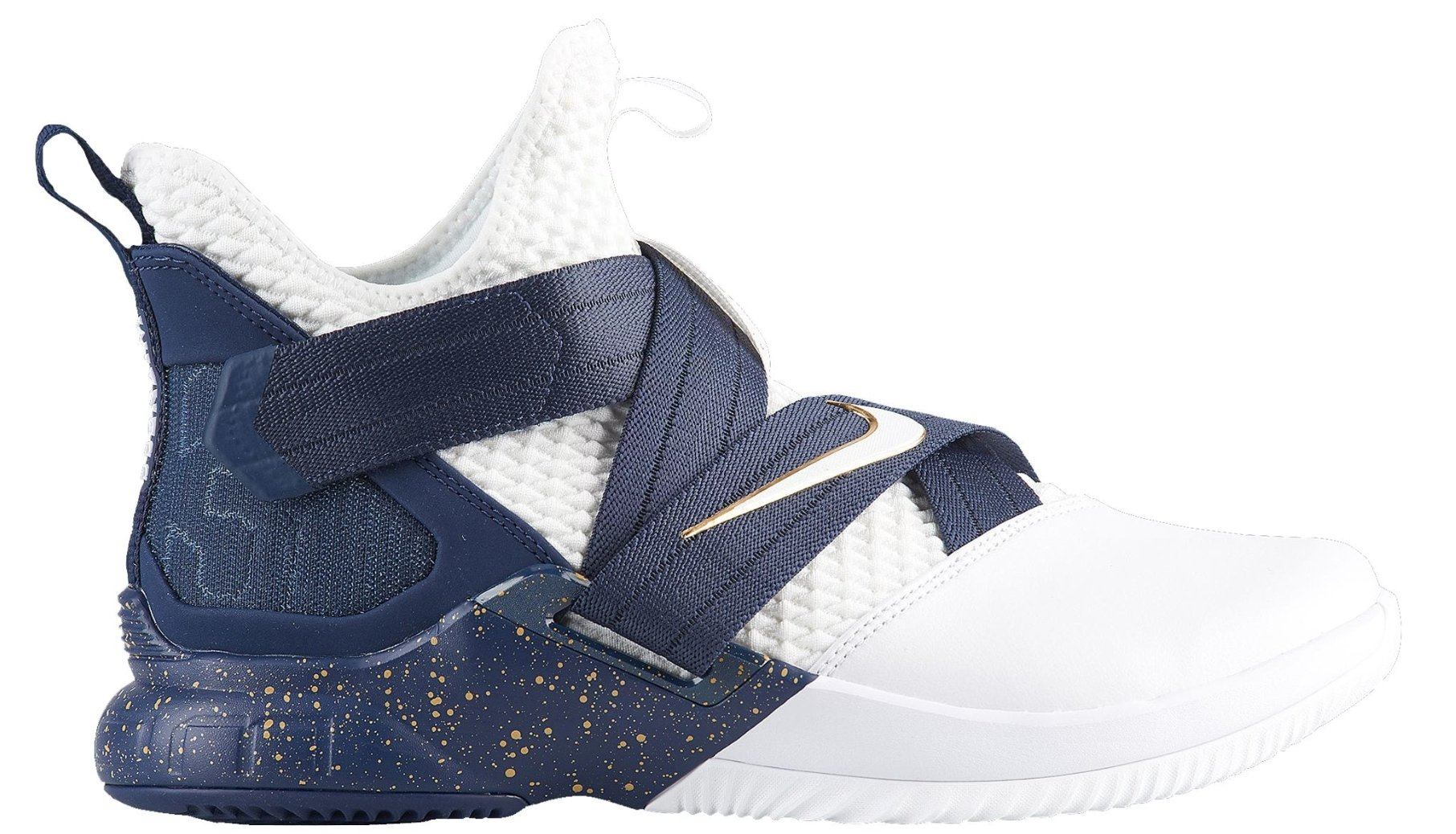 best website bdbcb 554b4 Galleon - NIKE Men s Zoom Lebron Soldier XII Basketball Shoes (8.5,  White Navy)