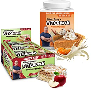 FITCRUNCH Fall Bundle, Pumpkin Pie Protein Powder + Apple Pie Protein Bars
