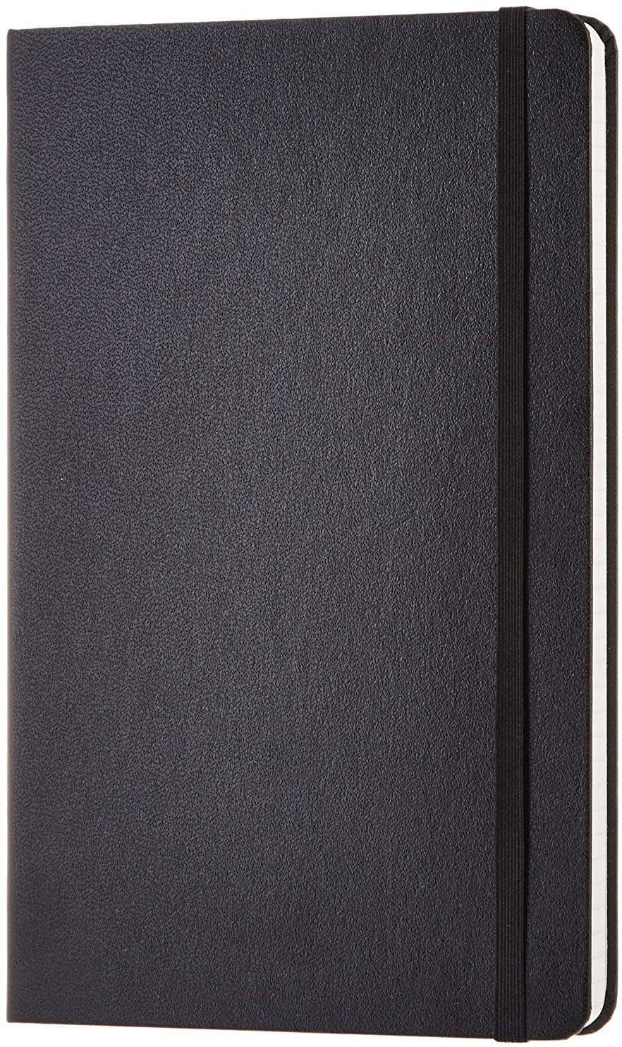 Amazon Basics Classic Grid Notebook, 240 Pages, Hardcover - Squared