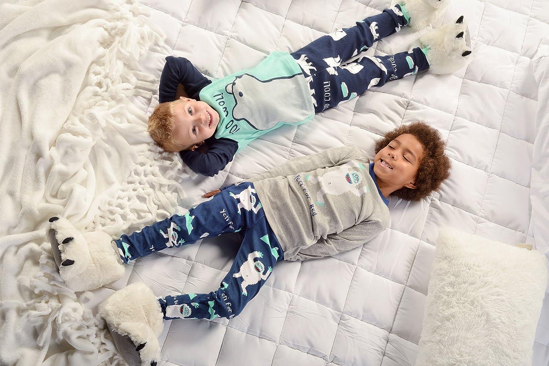 Lazy One Unisex Too Cool Kids PJ Set Long Sleeves