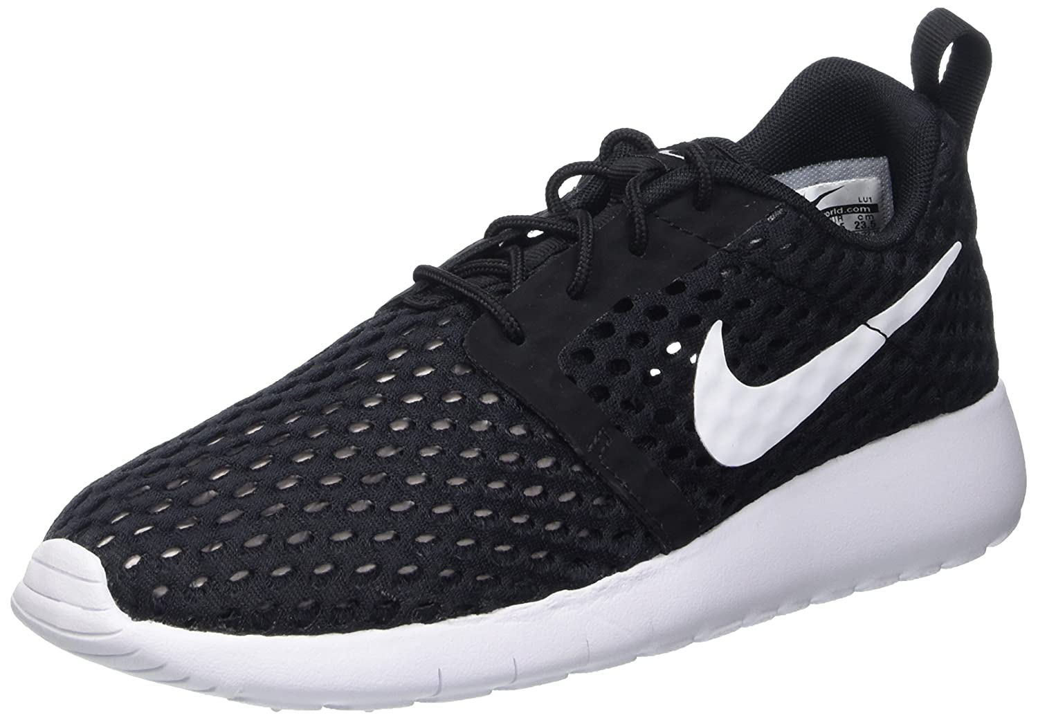 NIKE Roshe One Flight Weight (GS) Youth Sneaker B01FFQ2JXY 6.5 M US|Black-white
