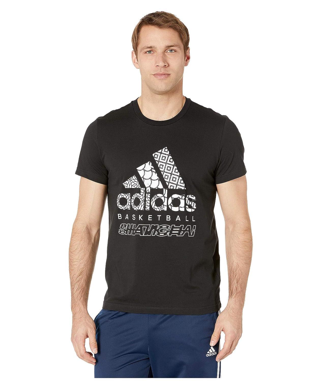 [アディダス] メンズ シャツ Badge of Sport Basketball T-Shirt [並行輸入品] B07Q71CX2D