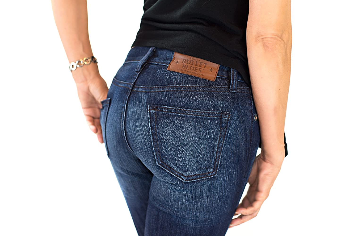 New Bullet Blues Fox Women's Skinny Jeans Made in the USA