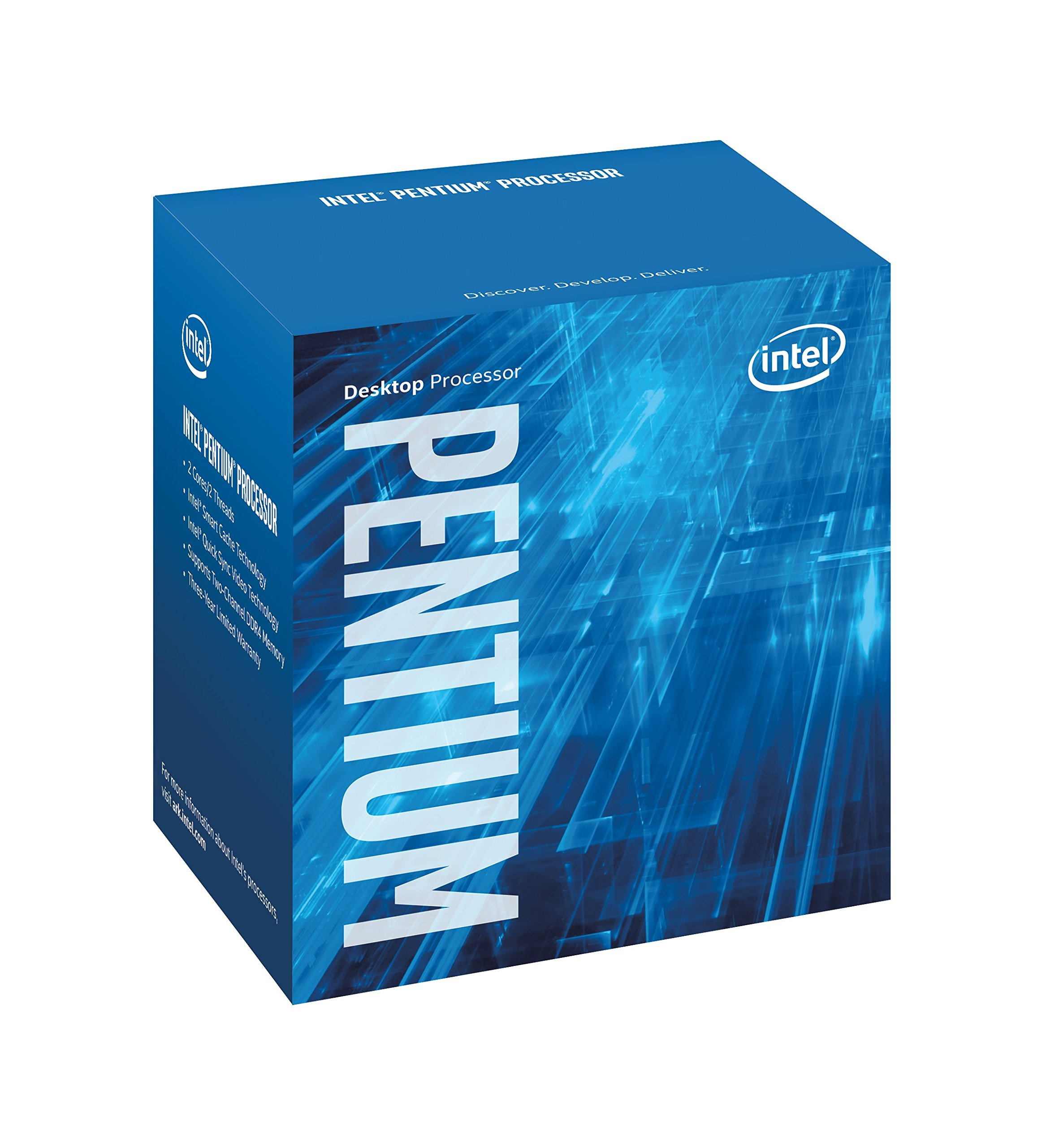 Intel BX80677G4620 7th Gen Pentium Desktop Processors by Intel