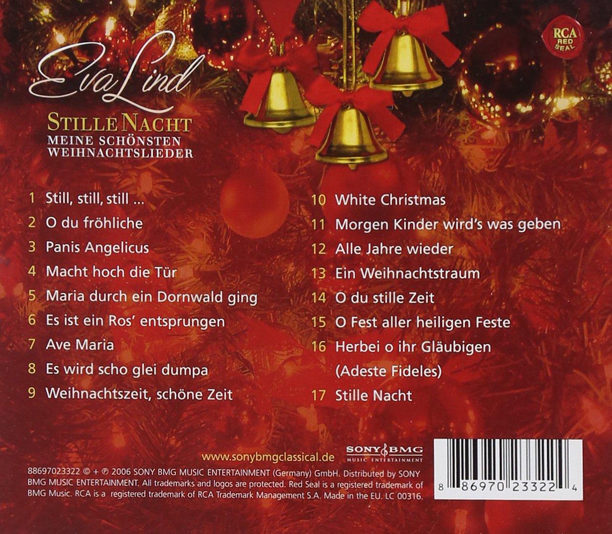 Stille Nacht - Meine schönsten Weihnachtslieder - Eva Lind: Amazon ...