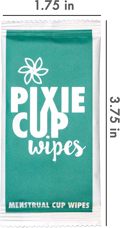 Pixie Cup Las toallitas recomendado para su Copas período de 100 ...