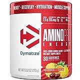 Dymatize AminoPro + Energy Endurance Amplifier Powder, Reinforced with Caffeine, Electrolytes & Amino Acids, Fruit Punch, 9.5