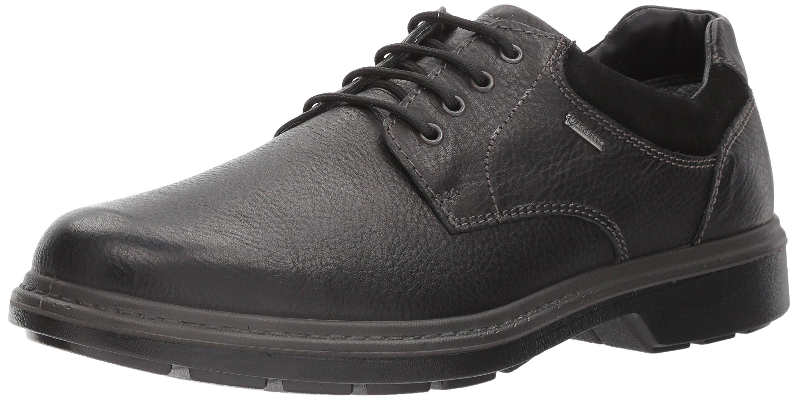ara Men's Jason Oxford, Black Leather, 41 W EU (8 US)