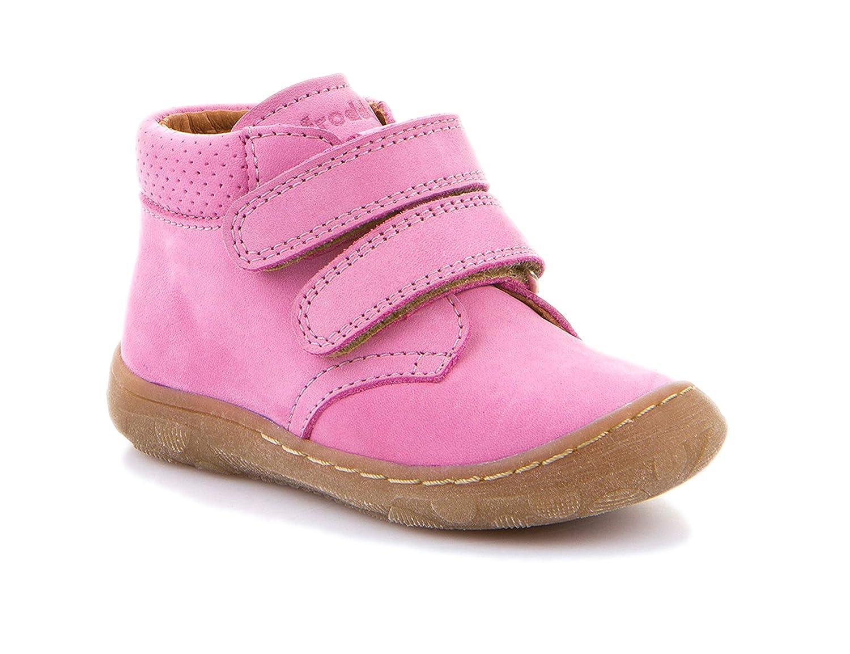 Froddo Lauflernschuh Doppelklett Schmal Pink 22