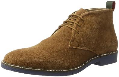 Kickers Matar, Desert Boots Homme, Marron (Camel), 44 EU