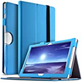 IVSO Acer Iconia One 10 (B3-A40) Hülle, Leder Tasche Schutzhülle mit Standfunktion für Acer Iconia One 10 B3-A40 2017 Tablet PC, Blau