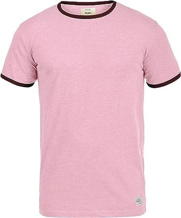 Redefined Rebel Madison Camiseta Básica De Manga Corta T-Shirt para Hombre con Cuello Redondo: Amazon.es: Ropa y accesorios