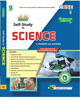 CBSE Self Study In Science: For Class 9 2018-2019 Session