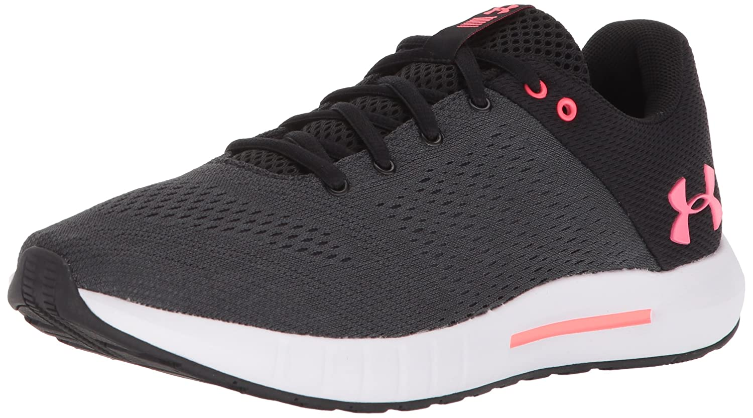 Under Armour Women's Micro G Pursuit Sneaker B071HMT42B 9.5 M US|Black (001)/Anthracite