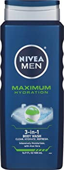 3-Pack Nivea Mens Maximum Hydration 3-in-1 Body Wash