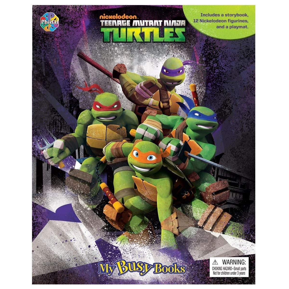 Teenage Mutant Ninja Turtles: My Busy Book: Amazon.es ...