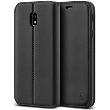 quality design 49f27 bce8f BEZ Case for Samsung J5 2017 Phone Case, Flip Cover Compatible with Samsung  Galaxy J5 2017, Protective PU Leather Wallet with a Card Holder, Kick ...