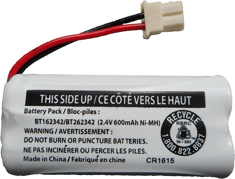 Replacement Battery BT162342 / BT262342 for Vtech AT&T Cordless Telephones CS6114 CS6419 CS6719 EL52300 CL80111