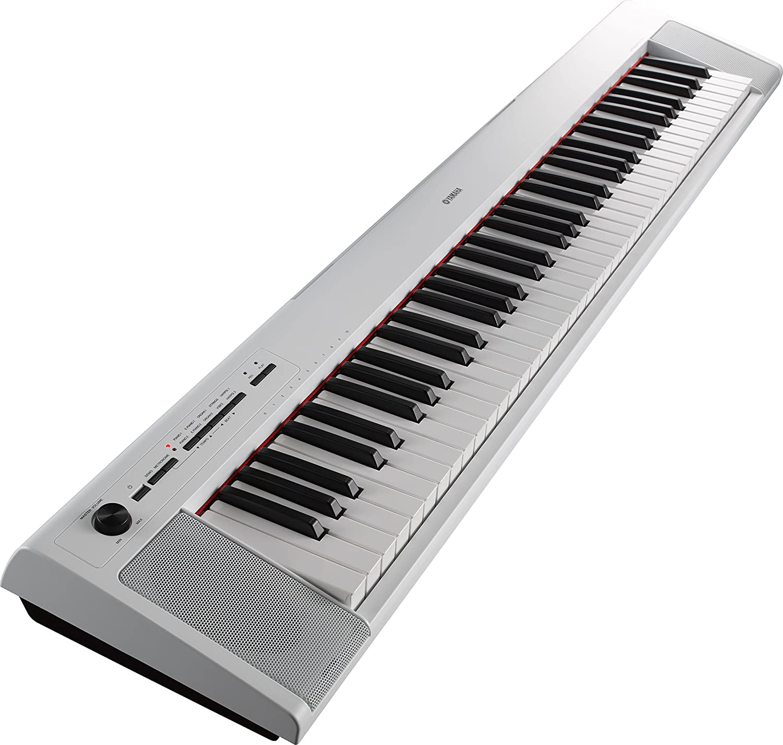 Yamaha NP-32WH - Teclado electrónico, color blanco : Amazon ...