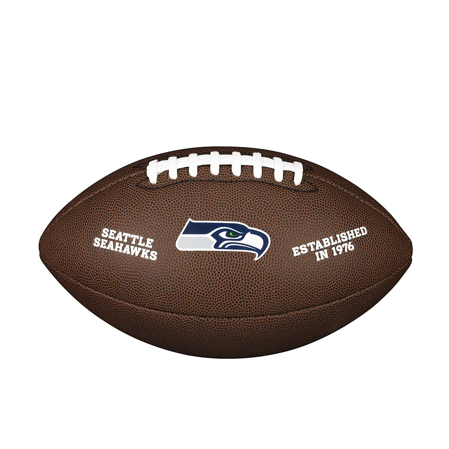 Wilson Seattle Seahawks Logo Official Football WTF1748SEA