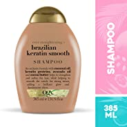 Shampoo Brazilian Keratin Smooth, OGX, 385 ml