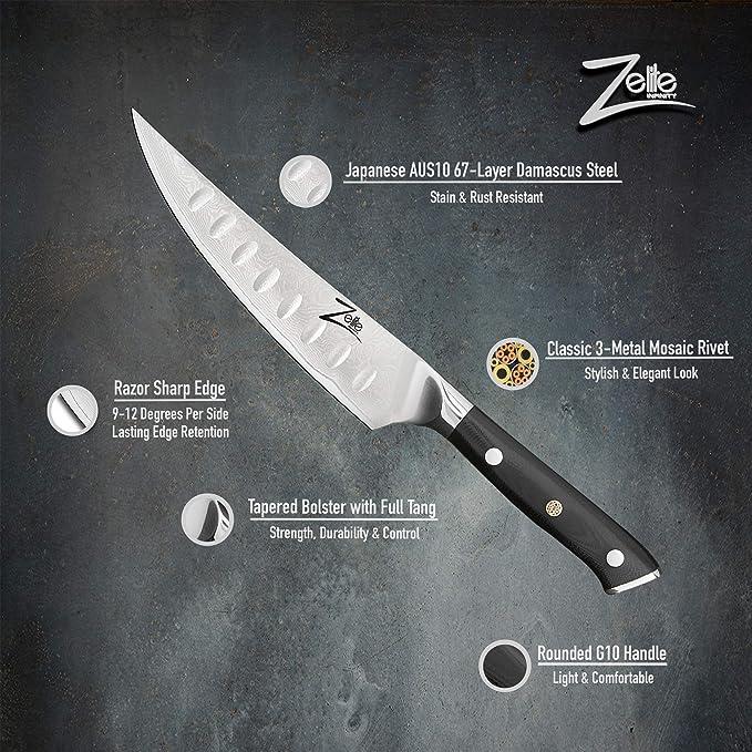 Zelite Infinity - Cuchillo de unión de 6 pulgadas - Serie ...