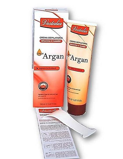 Crema depilatoria para hombre & mujer con Argan aceite 8 min Efecto