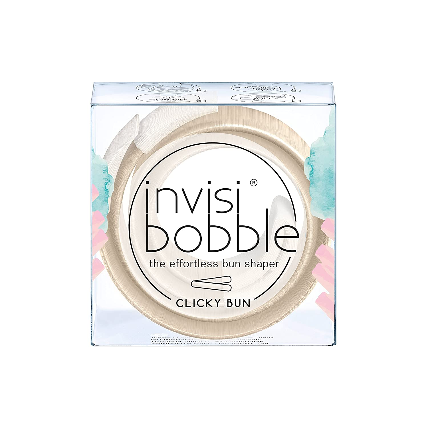 invisibobble Clicky Bun to be or Nude to be, pelo nodos sin Donut IB-CB-HP10001