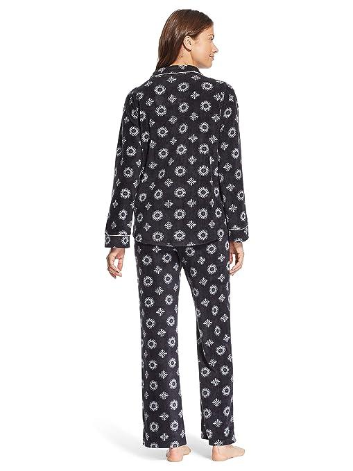 7525eefe Kathy Ireland Womens Lounge Pajama Shirt and Pants Set at Amazon Women's  Clothing store: