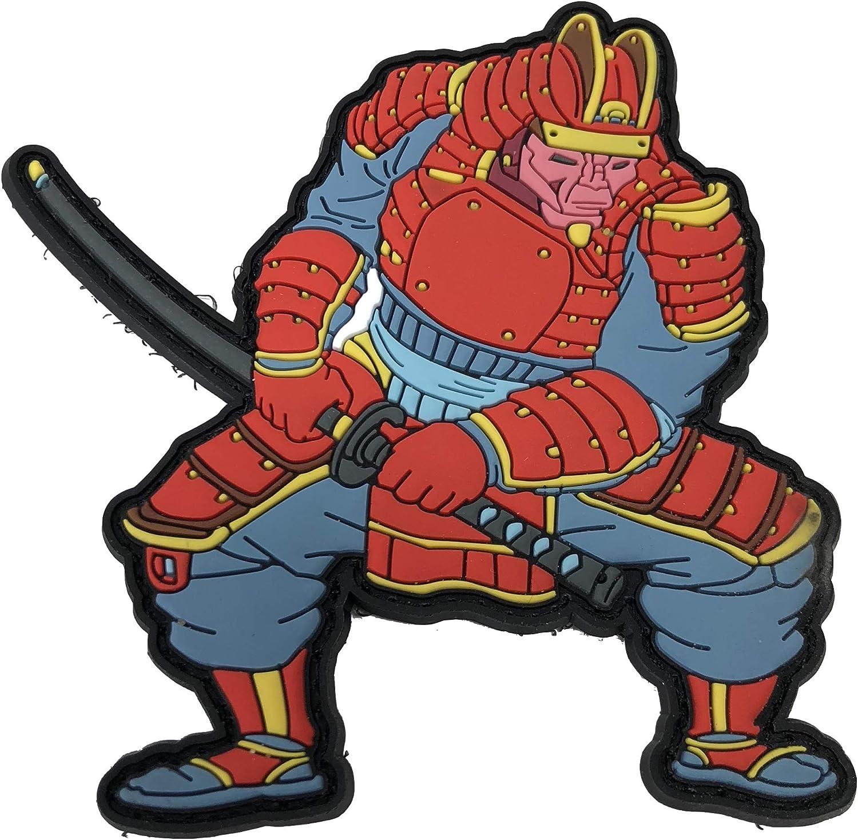 TACOPSGEAR Patch Moralpatte Bushido Samurai Warrior Patch Moralpatch