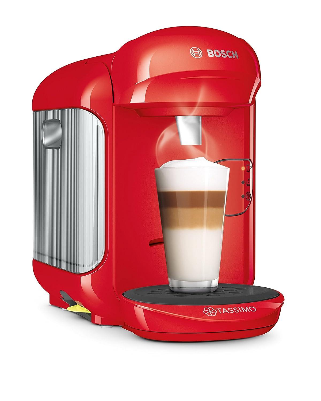 Tassimo Coffee Maker Dimensions : Bosch Tassimo Vivy 2 TAS1402GB Coffee Machine [1300 Watt, 0.7 Litre - Red] eBay
