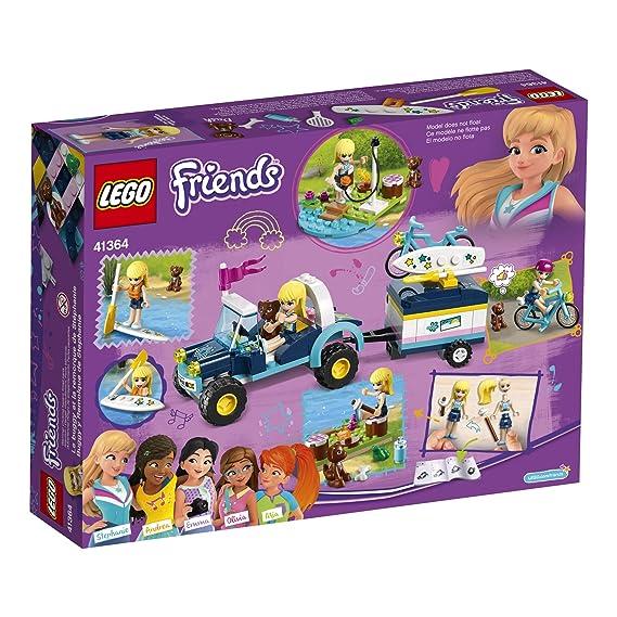 Amazon.com: LEGO Friends 41567 - Juego de silla de paseo y ...