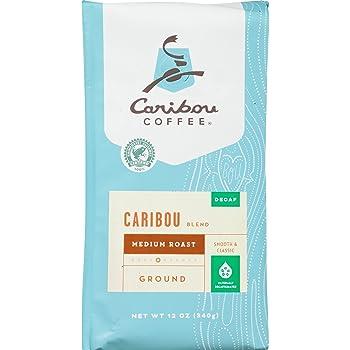 Caribou Coffee Rainforest Alliance Certified Medium Roast Coffee