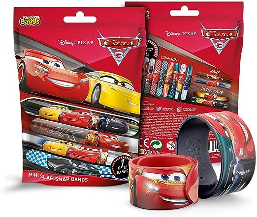 CRAZE- Schnapparmband Slap 59532-Pulsera Infantil con diseño de Cars 3, Color pulsera colorida. (Disney 59532) , color/modelo surtido: Amazon.es: Juguetes y juegos