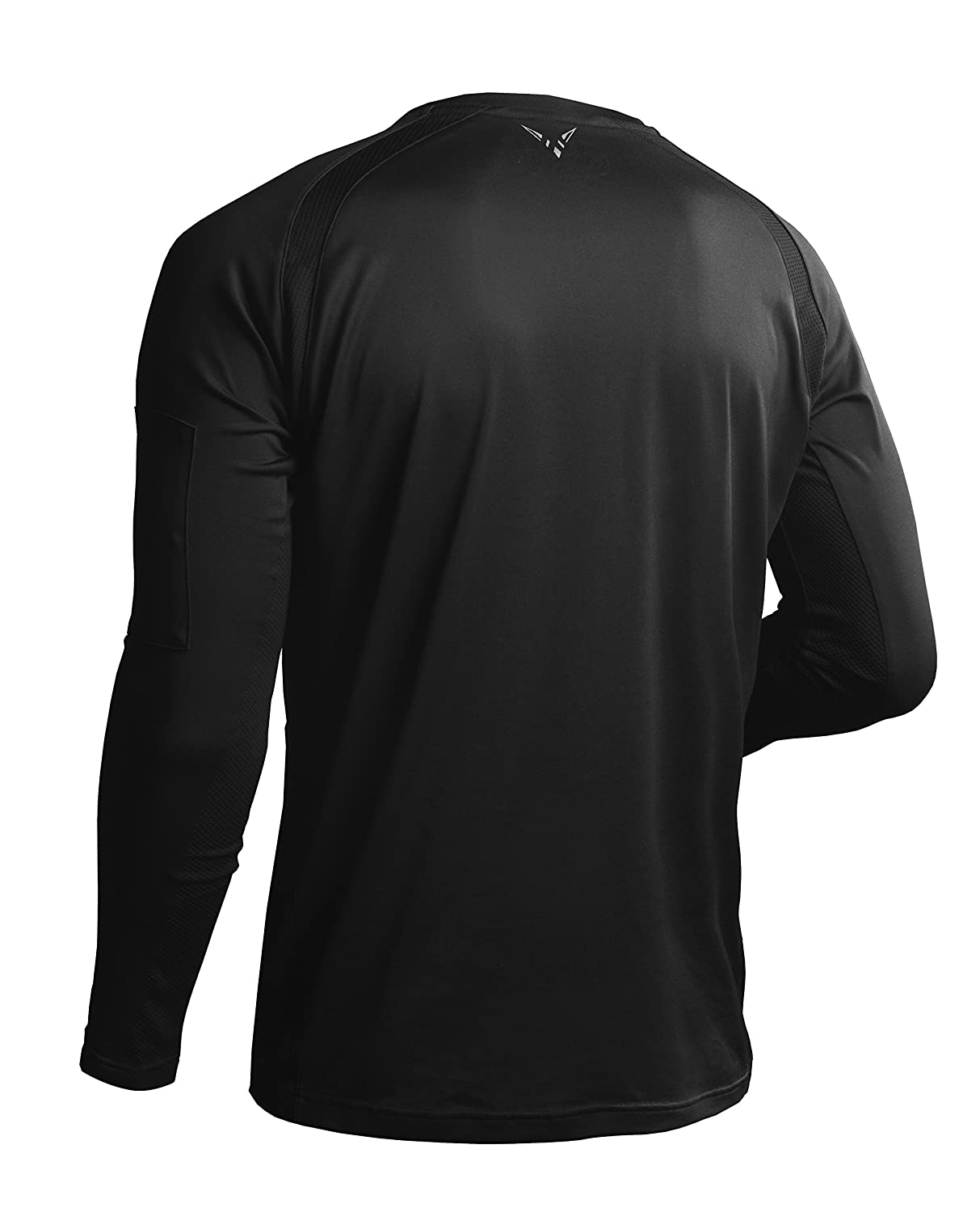 Vaiden Triton Mens Long Sleeve Workout Shirt Using Patented Astronaut Technology