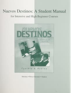 Amazon nuevos destinos spanish in review student edition intensive and high beginner student manual to accompany nuevos destinos spanish in review fandeluxe Choice Image