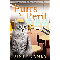 Purrs and Peril: A Norwegian Forest Cat Café Cozy Mystery - Book 1