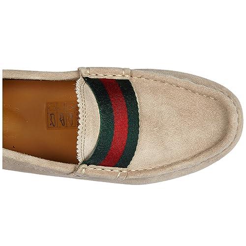 Gucci Mocasines Niño EN Ante Nuevo Moca Softy Cloud Beige EU 32 311473 CEN20 9561: Amazon.es: Zapatos y complementos