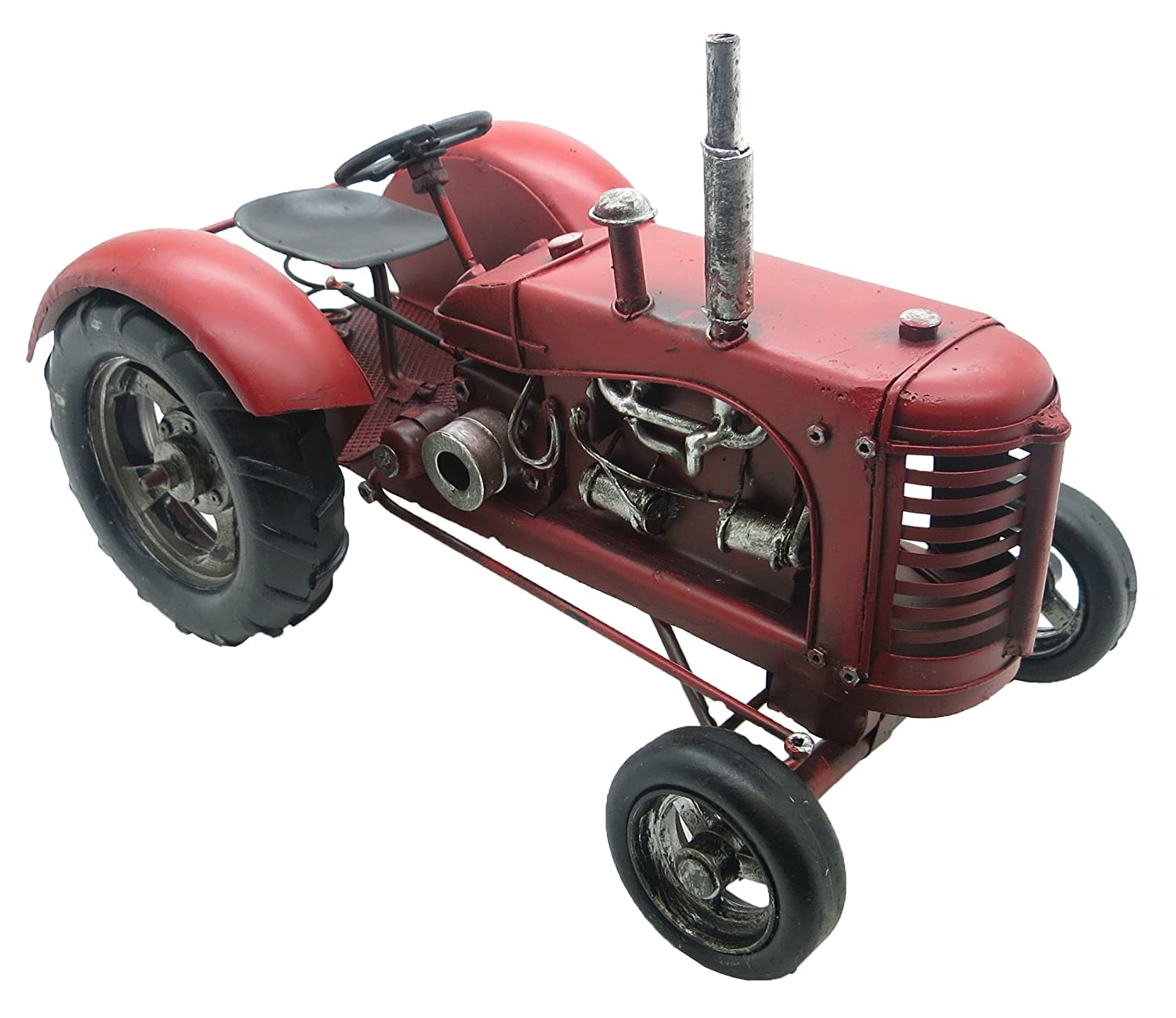 Lesser & Pavey Metal Tractor Collectible, Red Lesser & Pavey Ltd uk home LESGY LP24949