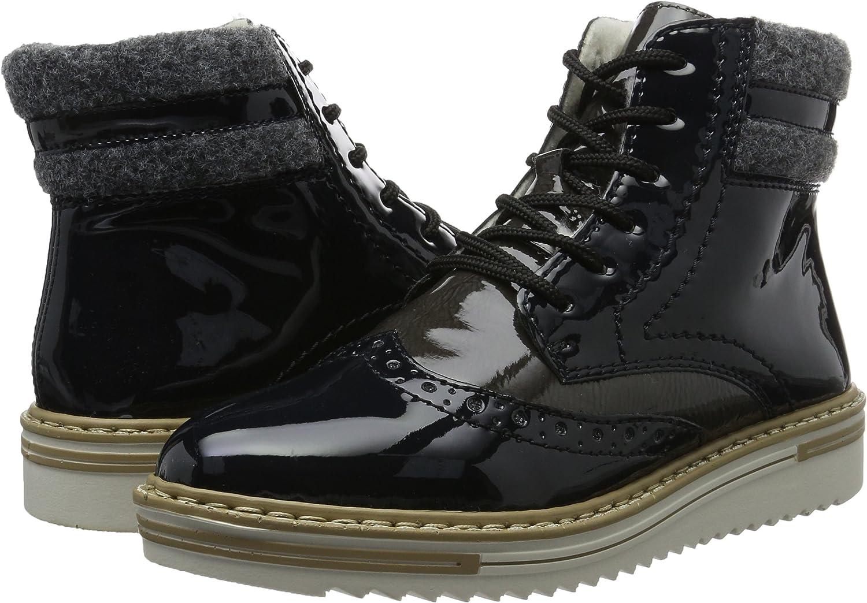 Rieker Damen Y5513 Kurzschaft Stiefel