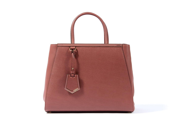 de3539df2ae7 Amazon.com   Fendi 2jours Tote 8bh250 Taupe Tan Brown Calfskin Tote Bag  (Rose Pink)   Baby